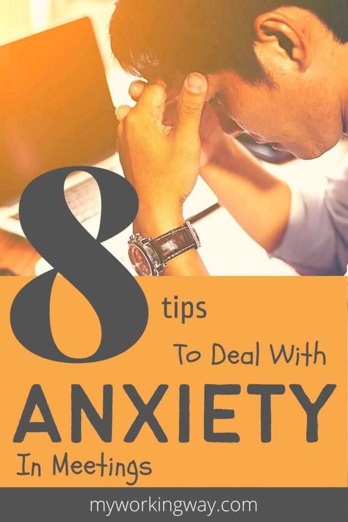 anxiety in meetings