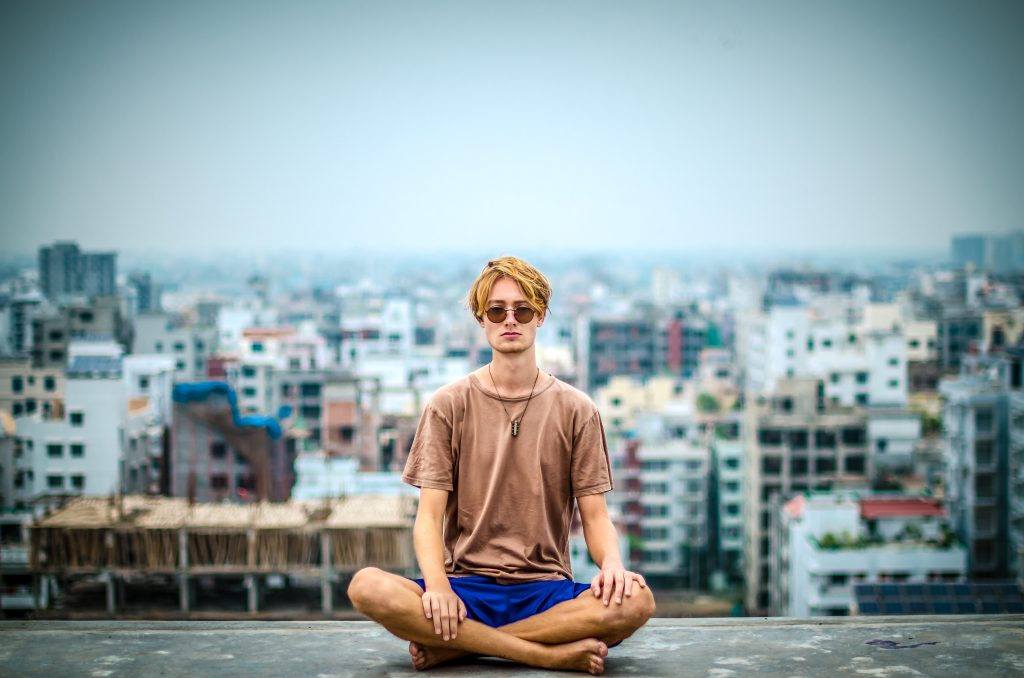 meditate in your lunch break