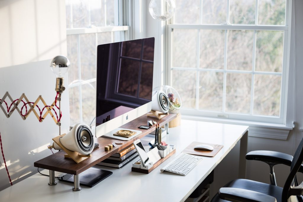 tidy your workspace in your lunch break